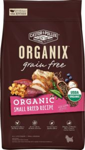 Best Dog Food For Scottish Terriers: Organix Small Breed Recipe Dry Dog Food: