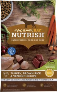 Rachael Ray Small-Breed Dry Dog Food, Real Chicken & Veggies for canaan dog