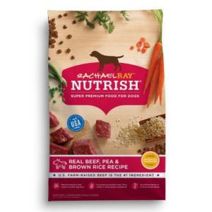 Best Dog Food For Scottish Terriers: Rachael Ray Nutrish Dry Dog Food, Real Beef & Brown Rice Recipe