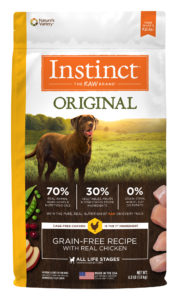 Instinct Original Grain-Free Dog Food for canaan