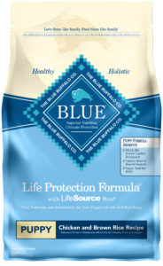Blue Buffalo Puppy Food, Chicken and Brown Rice for Labradoodles