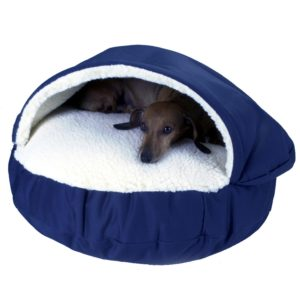 Snoozer Luxury Cozy Cave Pet Bed for anxiety