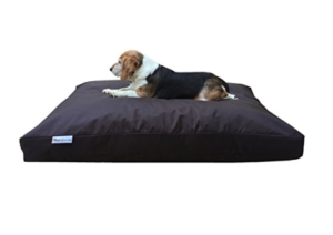 Dogbed4less Orthopedic Shredded Memory Foam Dog Bed for Doberman