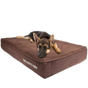 The Dog's Bed, Premium Water-Resistant Dog Bed