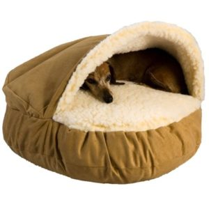 Deep Dish Cave Pet Bed Dogs Life Beds