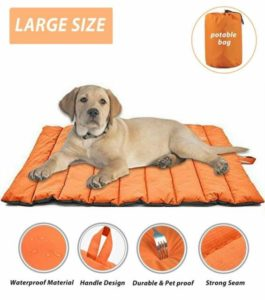 Cheerhunting Outdoor Dog Bed Portable Travel Dog Bed for Backpacking